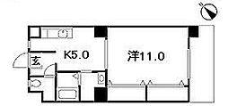 シャトームジカ[102号室]の間取り