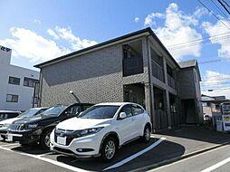 愛知県清須市新清洲1丁目の賃貸アパートの外観