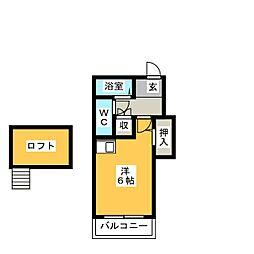 Livex MO[2階]の間取り