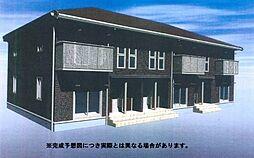 (仮)D-room三馬[201号室]の外観