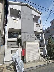 大阪府堺市堺区中安井町1丁の賃貸アパートの外観