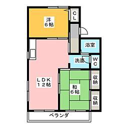 セジュール969 A・B[2階]の間取り