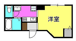 第2中村ビル[202号室]の間取り