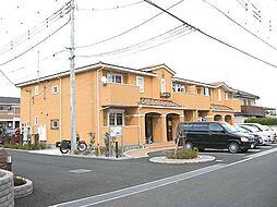 埼玉県川越市石原町2丁目の賃貸アパートの外観