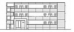 岡山県岡山市北区南方3の賃貸マンションの外観