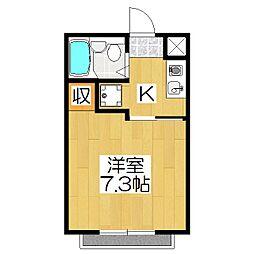 Casa Coraggio(カーサコラッジオ)[103号室]の間取り