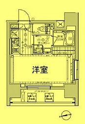 5/17 レガリス東京イースト 007[3階]の間取り