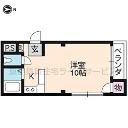 ラメールⅢ[3階]の間取り