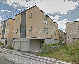北海道札幌市東区北二十五条東16の賃貸アパートの外観