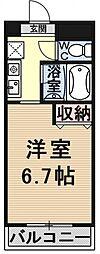 エミネンスコート瀬田[604号室号室]の間取り