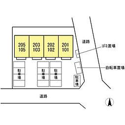 仮)D-room文教台[203号室]の外観