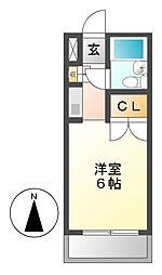 メゾン・ド・スクワール[2階]の間取り