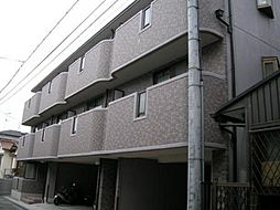 大阪府柏原市法善寺4丁目の賃貸マンションの外観