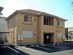 徳島県徳島市西新浜町1丁目の賃貸アパートの外観