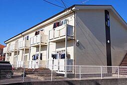 愛知県安城市横山町寺下の賃貸アパートの外観