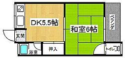 原田マンション(向島)[2階]の間取り