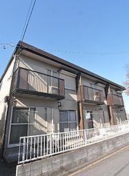 埼玉県志木市柏町1の賃貸アパートの外観