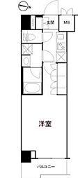 東京メトロ丸ノ内線 方南町駅 徒歩3分の賃貸マンション 5階1Kの間取り