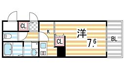 S−FORT住道[1015号室]の間取り