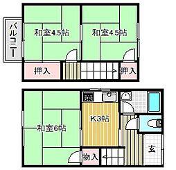 [一戸建] 滋賀県栗東市小柿10丁目 の賃貸【/】の間取り