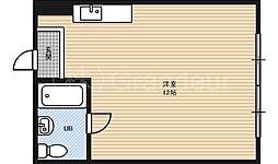 チサンマンション第3新大阪[10階]の間取り