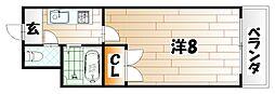 フローレンス三六[3階]の間取り
