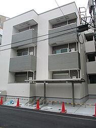 大阪府大阪市東住吉区西今川1丁目の賃貸アパートの外観