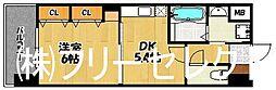グロースメゾン博多山王[9階]の間取り