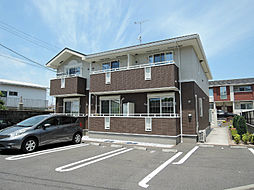 福岡県北九州市八幡西区上上津役1丁目の賃貸アパートの外観