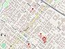 地図,1LDK,面積36.96m2,賃料5.2万円,札幌市営東西線 琴似駅 徒歩3分,JR函館本線 琴似駅 徒歩8分,北海道札幌市西区二十四軒四条4丁目5番24号