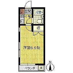 カーサ川中島[203号室]の間取り