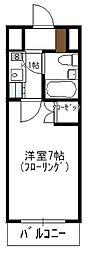 瀬川ビル[206号室]の間取り