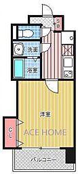 Luxe新大阪III[806号室号室]の間取り
