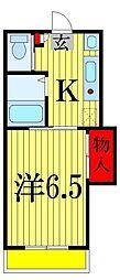 永和第五ビル[3階]の間取り