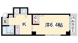 ハイライフ小河通Ⅳ[6階]の間取り