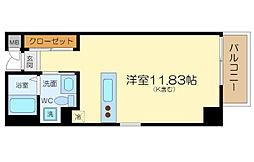 S'z apartment中之島[9階]の間取り