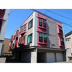 北海道札幌市東区北三十三条東9丁目の賃貸アパートの外観