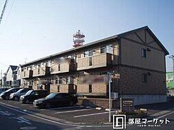 愛知県豊田市上野町4丁目の賃貸アパートの外観