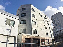 北海道札幌市中央区南十四条西8丁目の賃貸マンションの外観