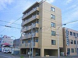 北海道札幌市中央区北十条西19丁目の賃貸マンションの外観
