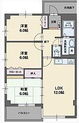 RYU−SUI[S202号室]の間取り