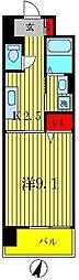 ライツェントヴォーネン[2階]の間取り