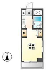 BELLE TOPIA稲沢 2[4階]の間取り