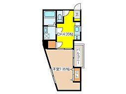 (仮称)府中アパート[1階]の間取り