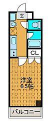 神奈川県相模原市中央区共和1丁目の賃貸マンションの間取り