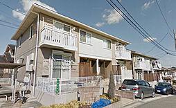 愛知県名古屋市緑区緑花台の賃貸アパートの外観