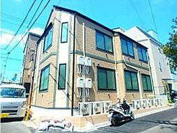 東京都新宿区中落合3丁目の賃貸アパートの外観
