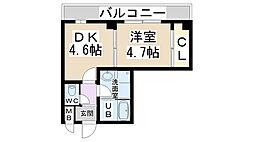 パークステージ夙川[205号室]の間取り