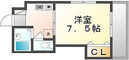 香川県高松市亀岡町の賃貸マンションの間取り
