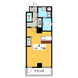 メゾンドール栄[2階]の間取り